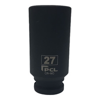 "27mm PCL 3/4"" Drive Deep Impact Sockets Fits Any 3/4"" Impact Wrench"