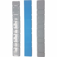 Grey Stick-On Wheel Balance Weights- 5/10 Gram Steel (Fe) - Packet of 20 Strips