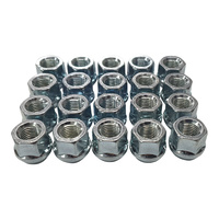 "20 x 1/2"" UNF Open Ended Wheel Nuts Zn Plated Ford Falcon Trailer"